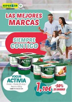 Ofertas de Activia en el catálogo de Hiperber ( Caduca mañana)