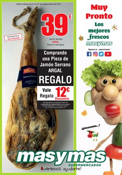 Ofertas de Masymas  en el folleto de Oviedo