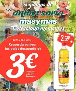 Ofertas de Masymas  en el folleto de Avilés