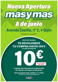 Ofertas de Masymas en el catálogo de Masymas ( Caducado)