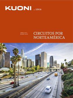 Ofertas de Circuitos  en el folleto de Kuoni en Barcelona
