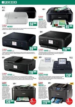 Ofertas de Canon  en el folleto de PCBox en León