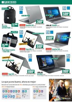 Ofertas de Asus  en el folleto de PCBox en Madrid
