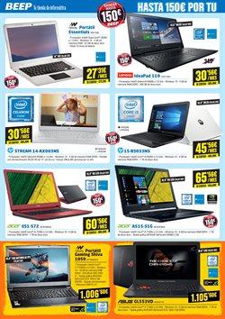 Ofertas de Acer  en el folleto de Beep en Bilbao