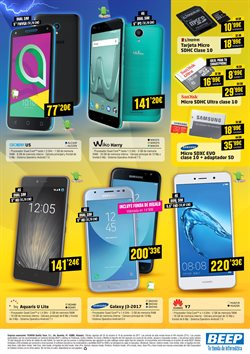 Ofertas de Smartphones Huawei  en el folleto de Beep en Alcalá de Henares