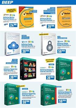 Ofertas de Antivirus  en el folleto de Beep en León