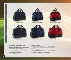 Ofertas de Bolsa de deporte  en el folleto de Nike en Madrid
