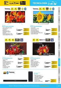 Ofertas de Tv led  en el folleto de Fnac en Madrid
