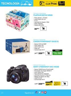 Ofertas de Cámara de fotos  en el folleto de Fnac en Alcalá de Henares