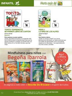 Ofertas de Libros infantiles  en el folleto de Fnac en Madrid