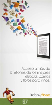 Ofertas de EBook  en el folleto de Fnac en Madrid