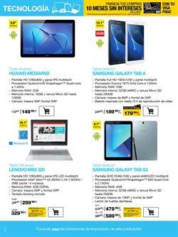 Ofertas de Huawei  en el folleto de Fnac en Madrid