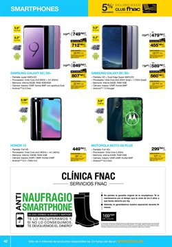 Ofertas de Smartphones Samsung  en el folleto de Fnac en Alcalá de Henares