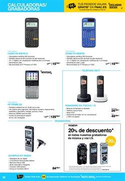 Ofertas de Panasonic  en el folleto de Fnac en Alcobendas