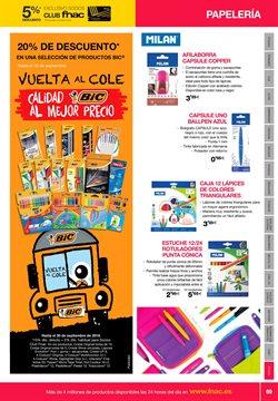 Ofertas de Lápices  en el folleto de Fnac en Madrid
