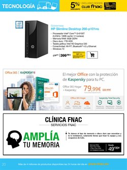 Ofertas de Antivirus  en el folleto de Fnac en Alcalá de Henares