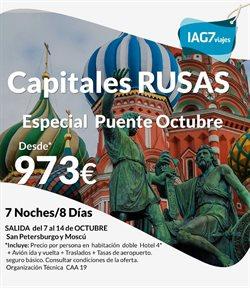 Ofertas de IAG7 Viajes  en el folleto de Madrid