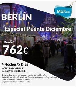 Ofertas de IAG7 Viajes  en el folleto de L'Hospitalet de Llobregat