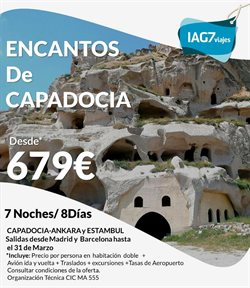 Ofertas de IAG7 Viajes  en el folleto de Barcelona