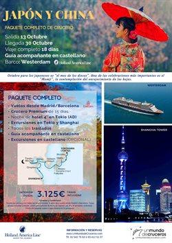 Ofertas de Viajes  en el folleto de Racc Travel en Castelldefels