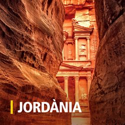 Ofertas de Viajes a Jordania  en el folleto de Racc Travel en Barcelona