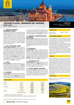 Ofertas de Cruceros  en el folleto de Racc Travel en Lleida