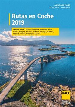 Ofertas de Viajes  en el folleto de Racc Travel en Mataró