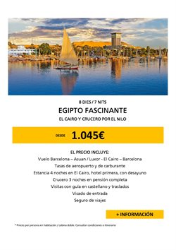Ofertas de Viajes  en el folleto de Racc Travel en Salt