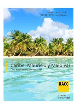 Ofertas de Viajes  en el folleto de Racc Travel en Reus