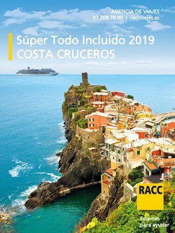 Ofertas de Racc Travel  en el folleto de Salt