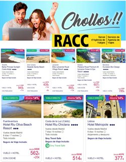 Catálogo Racc Travel ( Caducado)