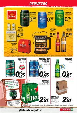 Ofertas de Heineken  en el folleto de SPAR Gran Canaria en Santa Lucía de Tirajana