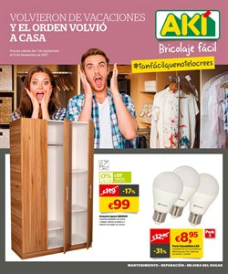 Ofertas de AKI  en el folleto de Madrid