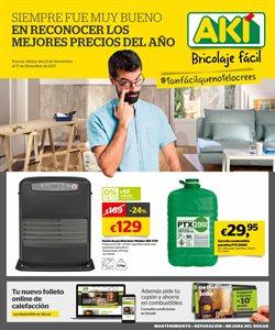 Ofertas de Accesorios para estufas  en el folleto de AKI en Madrid