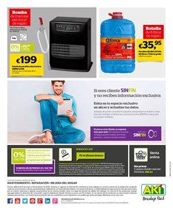 Ofertas de Estufas  en el folleto de AKI en Madrid