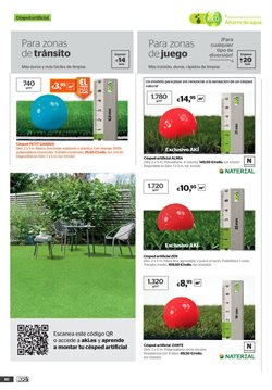 Ofertas de Césped artificial  en el folleto de AKI en Madrid