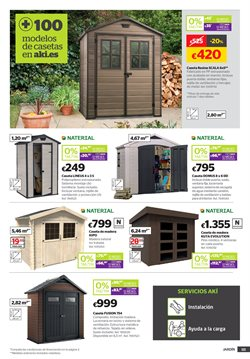 Comprar caseta de jard n ofertas y promociones - Catalogo aki jardin ...