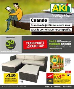 Ofertas de Jardín y bricolaje  en el folleto de AKI en Alcalá de Henares