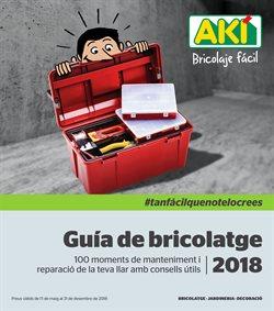 Ofertas de Jardín y bricolaje  en el folleto de AKI en Terrassa