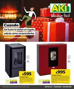 Ofertas de Estufa de queroseno  en el folleto de AKI en Madrid
