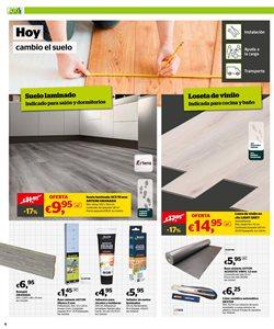 Ofertas de Suelos laminados  en el folleto de AKI en A Coruña