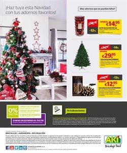 Ofertas de Navidad  en el folleto de AKI en Leganés
