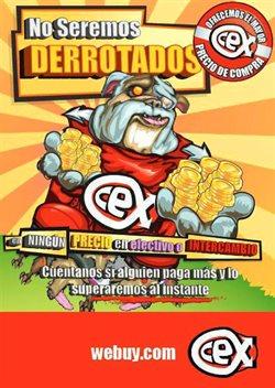 Ofertas de CeX  en el folleto de Madrid