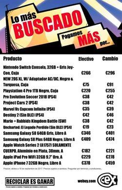 Ofertas de IPhone  en el folleto de CeX en Castellón de la Plana