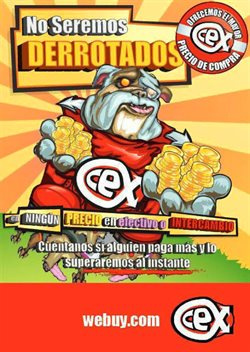 Ofertas de CeX  en el folleto de Zaragoza
