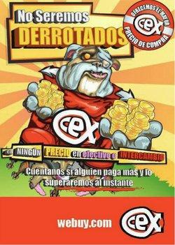 Catálogo CeX ( Publicado ayer)