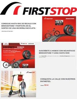 Ofertas de Bridgestone en el catálogo de First Stop ( 4 días más)