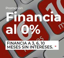 Ofertas de Financiación  en el folleto de First Stop en Madrid