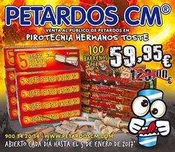 Ofertas de Ocio  en el folleto de Petardos CM en Santa Cruz de Tenerife