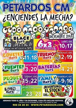 Ofertas de Ocio  en el folleto de Petardos CM en Leioa